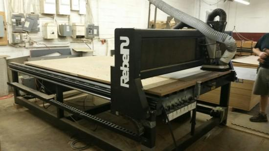 Vytek Rebel 2 cnc router in need of a cnc retrofit upgrade from cncexperts.com